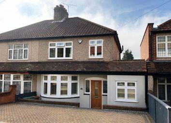 Thumbnail 3 bed semi-detached house for sale in Bridgen Road, Bexley
