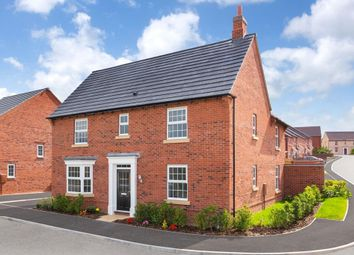 "Thumbnail 4 bedroom detached house for sale in ""Layton"" at Fleckney Road, Kibworth, Leicester"