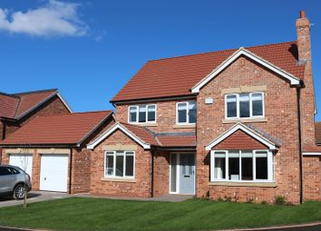 Thumbnail 5 bed detached house for sale in Plot 4, The Buckingham, Church View, Church Lane, Ulceby, North Lincolnshire