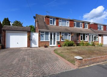 Thumbnail 3 bed semi-detached house for sale in Martins Close, Blackwater, Camberley