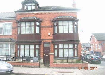 Thumbnail 6 bed semi-detached house to rent in East Park Road, Leicester