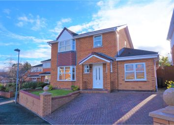 Thumbnail 4 bed detached house for sale in Bryn Glas, Flint