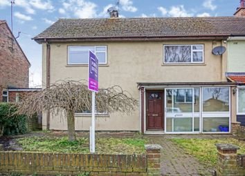 Thumbnail 3 bedroom end terrace house for sale in Peterhouse Crescent, Woodbridge