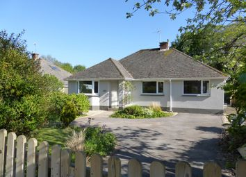 Thumbnail 3 bed detached bungalow for sale in Porlock Road, Woodcombe, Minehead