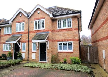 Thumbnail 4 bed semi-detached house for sale in New Haw, Surrey