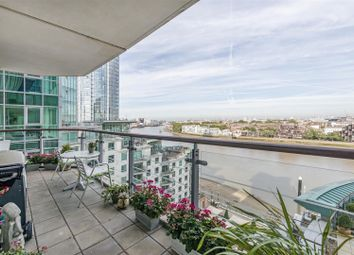 Thumbnail 3 bed flat for sale in Flagstaff House, 10 St George Wharf, Nine Elms, London