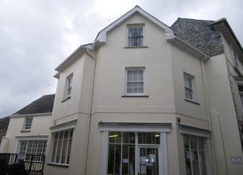 Thumbnail 1 bed flat to rent in Church Street, Liskeard