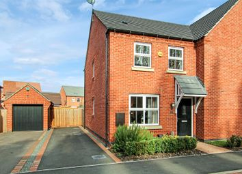 Thumbnail 2 bed semi-detached house for sale in Potters Way, Measham, Swadlincote