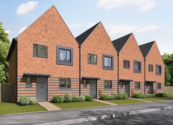 """""""The Eveleigh"""" at Sumpter Way, Lower Road, Faversham ME13. 3 bed terraced house for sale"""