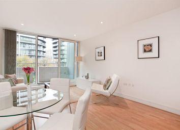 Thumbnail 1 bed flat to rent in Chelsea Bridge Wharf, London