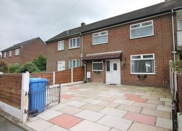 Thumbnail 3 bed town house for sale in Wychelm Road, Partington, Manchester
