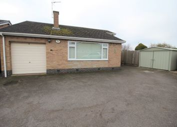 Thumbnail 2 bedroom detached bungalow for sale in Herrick Drive, Thurnby, Leicester