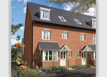 "Thumbnail 4 bedroom town house for sale in ""The Wimborne"" at Trench Lock, Hadley, Telford"