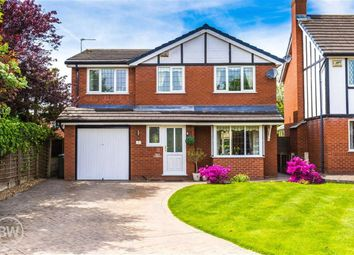 Thumbnail 4 bed detached house for sale in Birchwood Close, Leigh, Lancashire