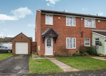 Thumbnail 3 bed end terrace house for sale in Bushmead Road, Luton