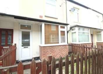 Thumbnail 2 bedroom terraced house to rent in Irene Avenue, Durham Street, Hull