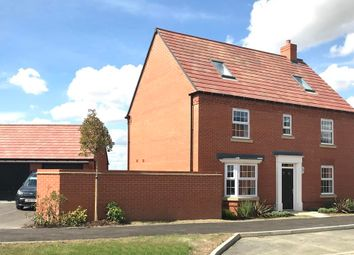 """Thumbnail 5 bed detached house for sale in """"Moorecroft"""" at Torry Orchard, Marston Moretaine, Bedford"""