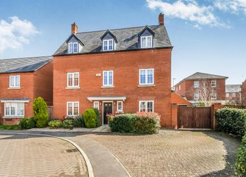 Thumbnail 5 bed detached house for sale in Chainbridge Court, Thrapston, Kettering