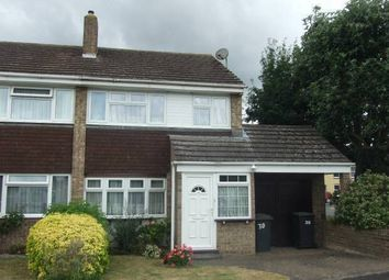Thumbnail 3 bed property to rent in Charles Close, Snodland