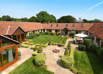 Thumbnail 5 bed detached house for sale in Popham, Micheldever, Winchester