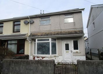 Thumbnail 3 bed semi-detached house for sale in Dumfries Place, Ystradgynlais, Swansea.