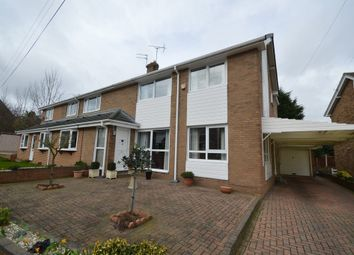 Thumbnail 4 bed semi-detached house for sale in Oakleigh Avenue, Wakefield
