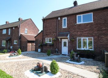 Thumbnail 2 bed semi-detached house for sale in Carrgate, Kinsley, Pontefract