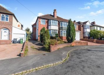 Thumbnail 3 bed semi-detached house for sale in Landswood Road, Oldbury, Birmingham, West Midlands