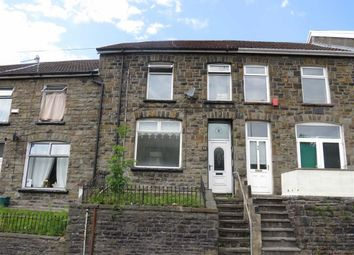 Thumbnail 3 bed terraced house for sale in Pleasant View, Tylorstown, Ferndale