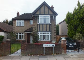 Thumbnail 4 bed detached house for sale in Botwell Lane, Hayes, Middlesex