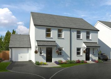 Thumbnail 3 bed semi-detached house for sale in The Sidings, Dartmouth Road, Churston Ferrers, Brixham