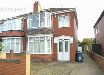 Thumbnail 3 bed semi-detached house for sale in Alderson Drive, Bennetthorpe, Doncaster.