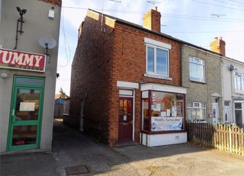 Thumbnail 2 bed end terrace house to rent in Elmton Road, Creswell, Worksop, Nottinghamshire