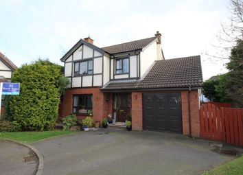 Thumbnail 4 bed detached house for sale in Plantation Drive, Carrickfergus