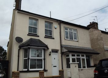 Thumbnail 3 bed semi-detached house for sale in Mill Road, Hawley, Dartford
