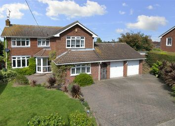 Thumbnail 4 bed detached house for sale in Ridgeway Road, Herne, Herne Bay, Kent