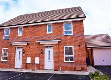 Thumbnail 3 bed semi-detached house for sale in Roberts Close, Hednesford, Cannock