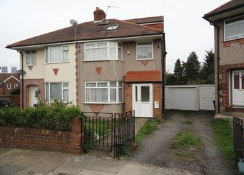 Thumbnail 4 bed semi-detached house for sale in Sandown Way, Northolt