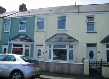 Thumbnail 3 bed end terrace house for sale in John Street, Neyland, Milford Haven