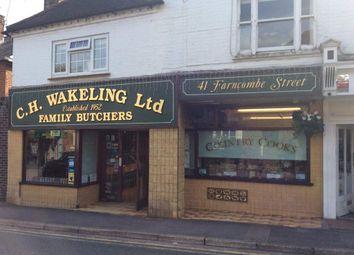 Thumbnail Retail premises for sale in Farncombe Street, Godalming
