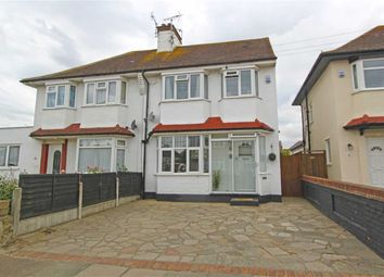 Thumbnail 4 bed semi-detached house for sale in Connaught Gardens, Shoeburyness, Essex