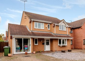 Thumbnail 4 bed detached house for sale in Willowbrook Drive, Peterborough, Cambridgeshire