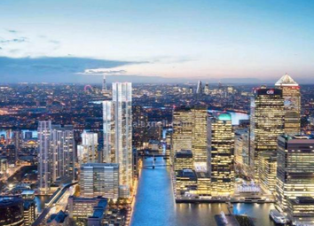 Thumbnail 3 bed flat for sale in South Quay Plaza, Canary Wharf, London
