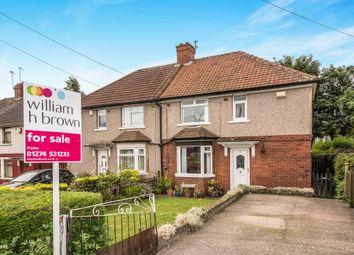 Thumbnail 3 bedroom semi-detached house for sale in Haworth Road, Heaton, Bradford