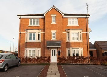 Thumbnail 2 bed flat for sale in Sandringham Meadows, Blyth