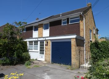 Thumbnail 4 bed semi-detached house to rent in New Road, Durrington, Wiltshire