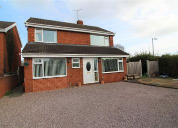 Thumbnail 4 bedroom detached house for sale in Ffordd Garmonydd, Wrexham