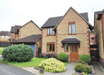 Thumbnail 3 bed detached house for sale in Braemar Crescent, East Hunsbury, Northampton