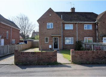 Thumbnail 3 bedroom semi-detached house to rent in Churchill Road, Wimborne