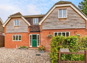 Thumbnail 4 bed detached house for sale in Alresford Road, Preston Candover, Basingstoke, Hampshire